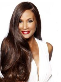 Lace Front Without Bangs Long Comfortable Beverly Johnson Styles Wigs