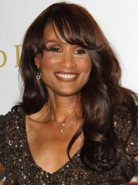 Brown Wavy 18 Inches Wigs Buy Beverly Johnson