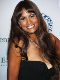 Brown Wavy 24 Inches Beverly Johnson Remy Hair Wigs
