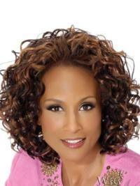 Brown Curly 12 Inches Beverly Johnson Wig