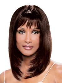 Auburn Straight 14 Inches Beverly Johnson Human Hair Wigs Review
