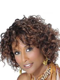 Brown Curly 10 Inches Beverly Johnson Wigs