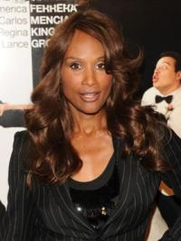 Brown Wavy 20 Inches Beverly Johnson Wig Official Website