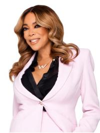 Stylish Shoulder Length Wavy Without Bangs Blonde Wendy Williams Wigs