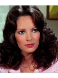 Cheapest Classic Wavy Black Shoulder Length Jaclyn Smith Wigs