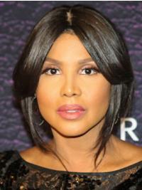 """Bobs 10"""" Straight Popular Black Toni Braxton Wigs"""
