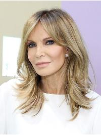 """Wavy 14"""" Capless Shoulder Length Without Bangs Ombre/2 Tone Amazing Jaclyn Smith Wigs"""
