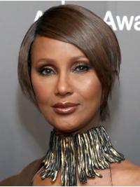 """Synthetic Lace Front Short Bobs Stylish 8"""" Iman Wigs"""