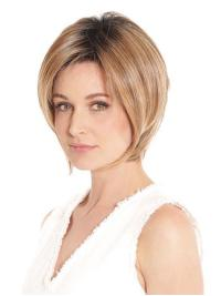 This wig is a beautifully layered bob that tapers at the nape, delivering modern sophistication.