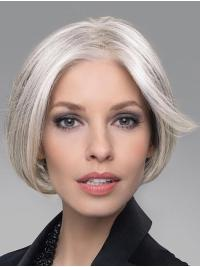 "This wig offers the perfect blend of Remy human hair and all the benefits of a high heat synthetic ""futura"" fiber."