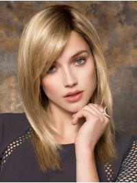 This is a long, layered, and super straight style.The straight layers extend mid-back and have jagged ends to add a natural, flat-ironed.