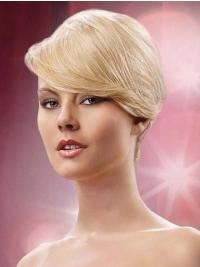 Blonde Synthetic New Hair Clips For Mature Women