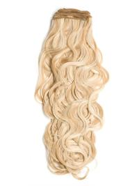 Curly Perfect Blondehair Extensions For Older Women