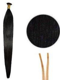 Fashion Straight Black Short Hair Extensions