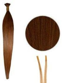 High Quality Straight Auburn Extensions For Short Hair