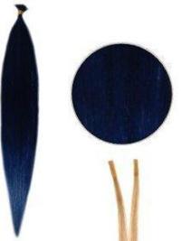 Modern Straight Black Hair Extension For Guys