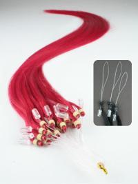 Fabulous Red Micro Loop Ring Hair Extensions
