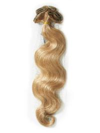 Affordable Wavy Blonde Real Hair Extensions For Short Hair