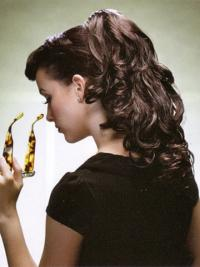 Brown Wavy Synthetic Hairstyles Ponytails For Black Women