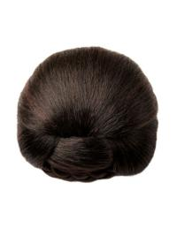 Brown Synthetic Trendy Wraps / Buns