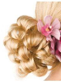Blonde Synthetic Stylish Wraps / Buns