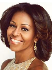 Layered Chin Length 12 Inches Style First Lady Wigs