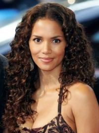 Curly Wig That Halle Berry Remy Human Hair High Quality