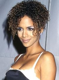 Without Bangs Halle Berry Short Wigs Remy Human Hair Best