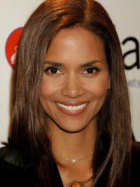 Layered Long Halle Berry Human Hair Hairstyles