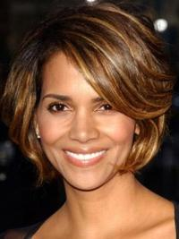 Full Lace Halle Berry Short Cut Wig 8 Inches