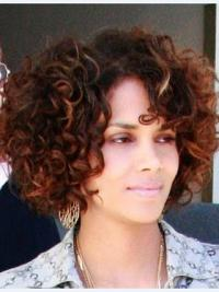 Full Lace Halle Berry Short Human Hair Wig 10 Inches