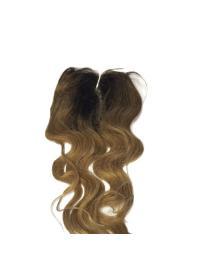 Black Wavy 20 Inches New Human Hair Closures