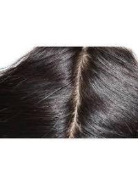 Durableremy Human Hair Straight 22 Inches Black Lace Closures
