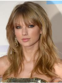 With Bangs Wavy Long Trendy Taylor Swift Wigs