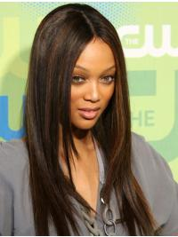 Straight Without Bangs Lace Front Wigs Styles Black Women