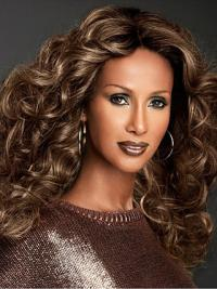 Lace Front Brown Synthetic Discount Iman Wigs Website