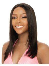 Long Yaki Capless Designed Cute Wigs African American