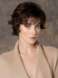 Wavy Synthetic Exquisite Monofilament Short Wigs