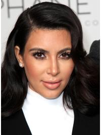 Capless Without Bangs Long Suitable Kim Kardashian New Style Top