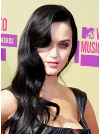 Capless Without Bangs Celebrity Human Hair Gorgeous Katy Perry