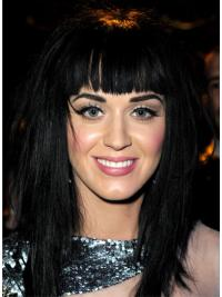 Black Long Synthetic Incredible Katy Perry Wigs