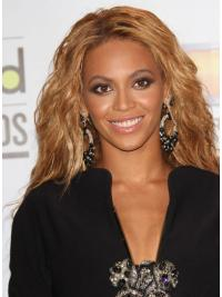 Capless Without Bangs Long Brazilian Remy Hair Beyonce Wigs Style