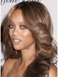 Wavy Layered Lace Front Black Women Hairstyles For Wigs