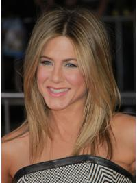 Blonde Straight Synthetic Gorgeous Jennifer Aniston Hair Wigs