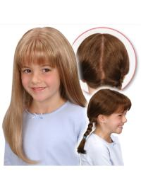 Incredible Synthetic Straight Children Wigs For Sale