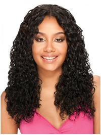 Convenient Long Black Lace Wigs For Black Women