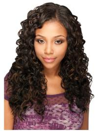 Gorgeous Long Brown Natural Hair Wigs For African American