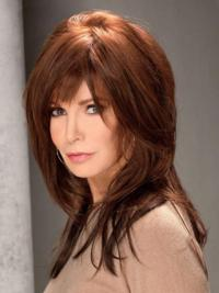 With Bangs Long 16 Inches Hairstyles Human Hair Wigs Jaclyn Smith