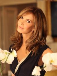 Lace Front Layered Remy Human Hair Style By Jaclyn Smith Wig Collection