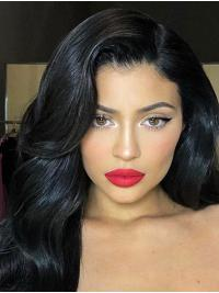Wavy Capless Long Black Kylie Jenner Wigs